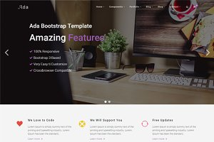 Ada - Multipurpose Template