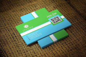 Greenblush Corporate Business Card