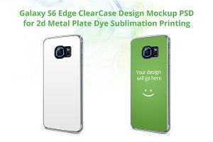 Galaxy S6 Edge 2d ClearCase Mock-up