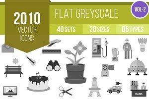 2010 Greyscale Icons (V2)