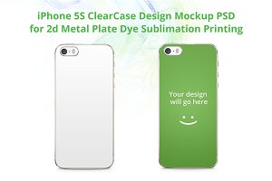 iPhone 5S 2d ClearCase Mock-up