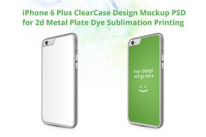 iPhone 6+ 2d ClearCase Mock-up