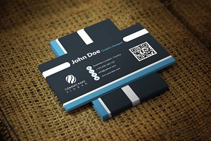 Blackblondi Business Card Template