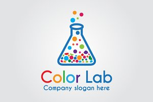 colorful Lab Logo