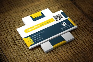 Yellily Business Card Template