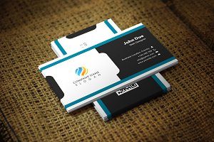 Blackangle Business Card Template