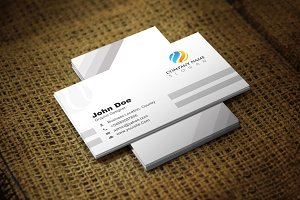 Cleandow Business Card Template