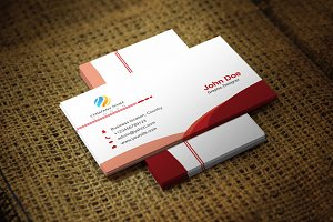 Redlius Business Card Template