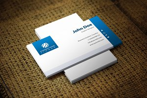 Whiteabluanta Business Card Template