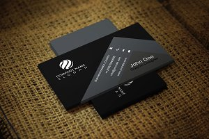 Blackona Corporate Business Card