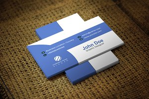 Banfox Corporate Business Card