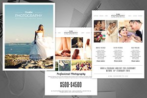 Photography Pricing Guide Flyer