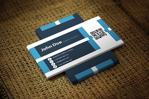 Blingua Business Card Template