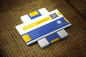 Yelloblu Business Card Template