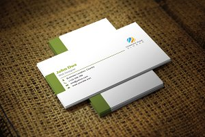 Greenite Business Card Template
