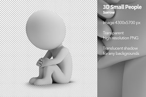 3D Small People - Sorrow
