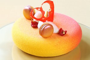Contemporary French Mousse Cake