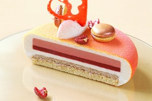 Contemporary Layered Mousse Cake