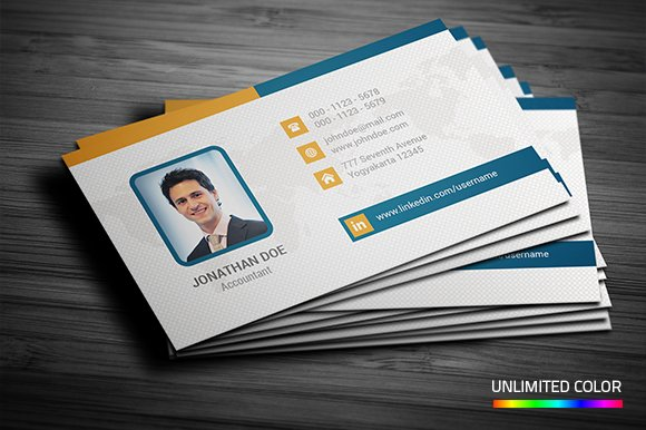Professional business card business card templates creative market professional business card accmission Image collections