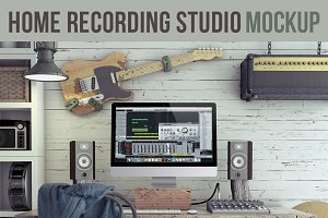 Home Recording Studio Mock-Up #3
