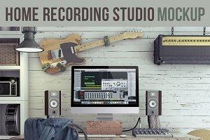 Home Recording Studio Mock-Up #3