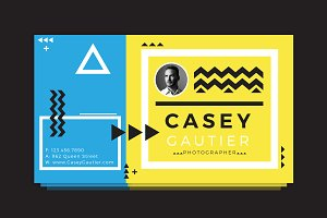 Casey Gautier Business Card