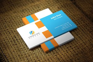 Orablue Corporate Business Card
