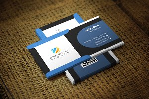 Blackice Business Card Template