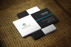 Blackimpa Business Card Template