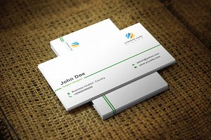 Simplever Business Card Template