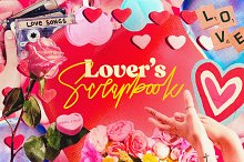 Lover's Scrapbook - Valentines Cuts by  in Graphics