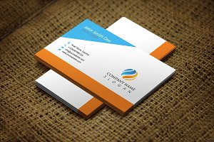 Oranjal Corporate Business Card