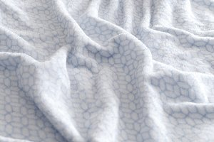 Confortable bed sheet background