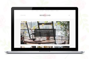 Roseland - A WP Blog theme