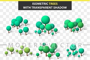 3D set trees isometric