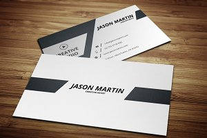 Dual Back side Business Card