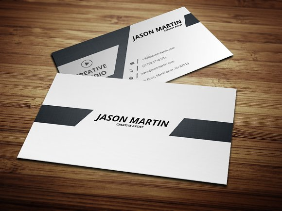 Dual back side business card business card templates creative market colourmoves