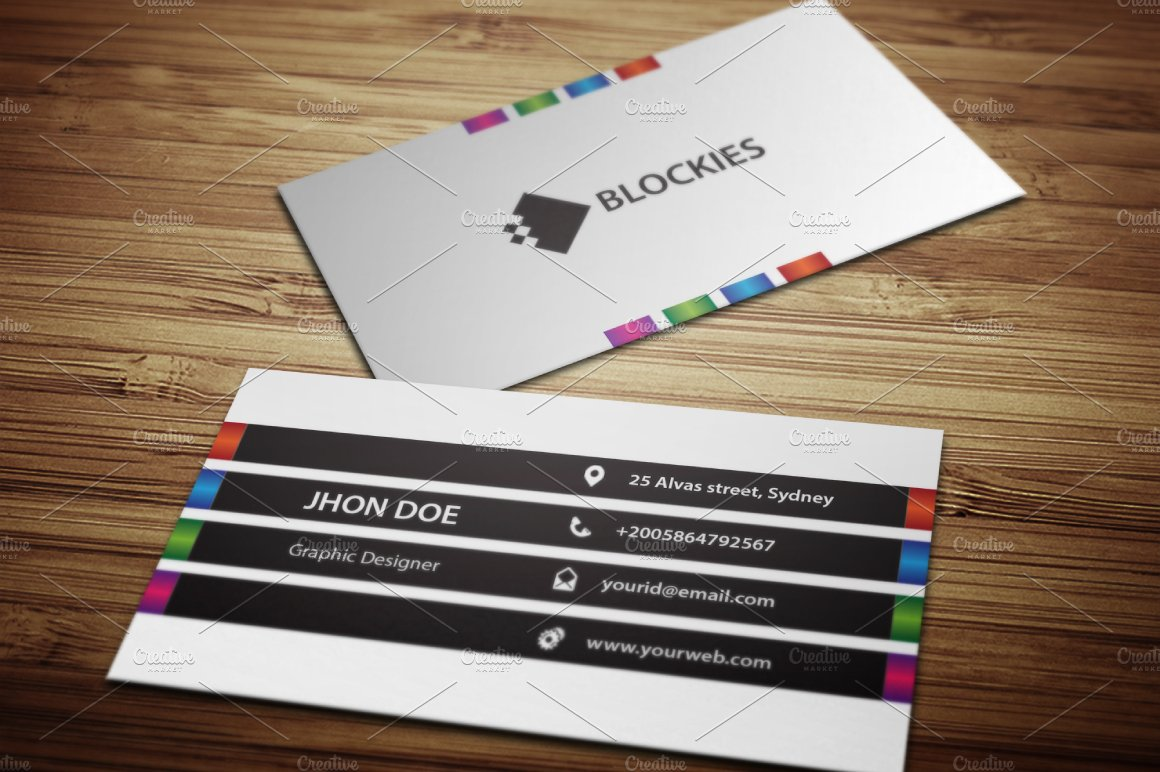 Multi-Purposes Business Card ~ Business Card Templates ~ Creative ...