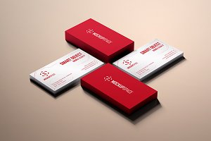 Elegant Business Cards Mock-up