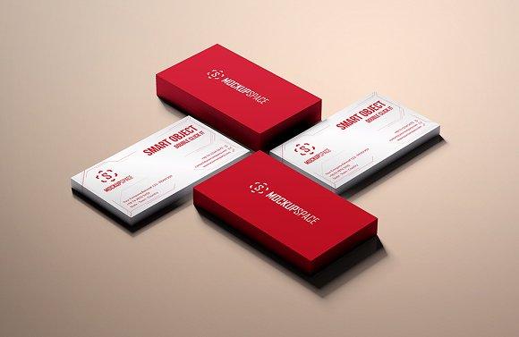 Download Elegant Business Cards Mock-up