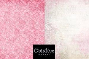 Background Pink Vintage