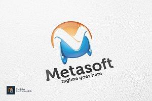 Metasoft / 3D Letter M - Logo