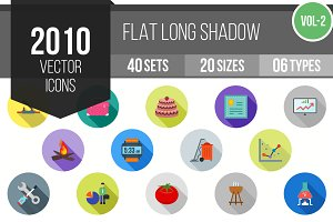 2010 Flat Shadowed Icons (V2)