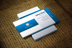 Bluwash Corporate Business Card