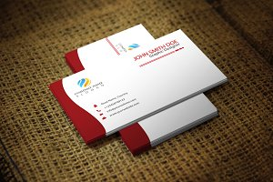 Redwish Corporate Business Card