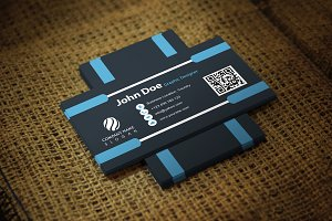 Blueliner Business Card Template