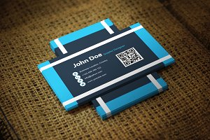 Bluflick Business Card Template