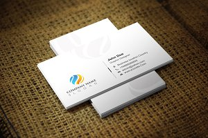 Whitea Business Card Template