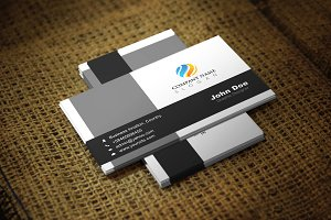 Blackotish Corporate Business Card