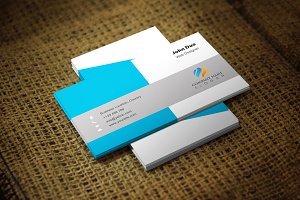 Blurish Corporate Business Card